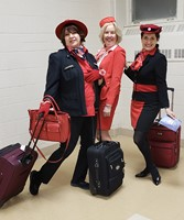 Airline Ladies at Rehearsal - January 17, 2019