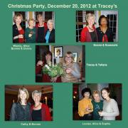 December 20, 2012 - Christmas Party at Tracey's (1)